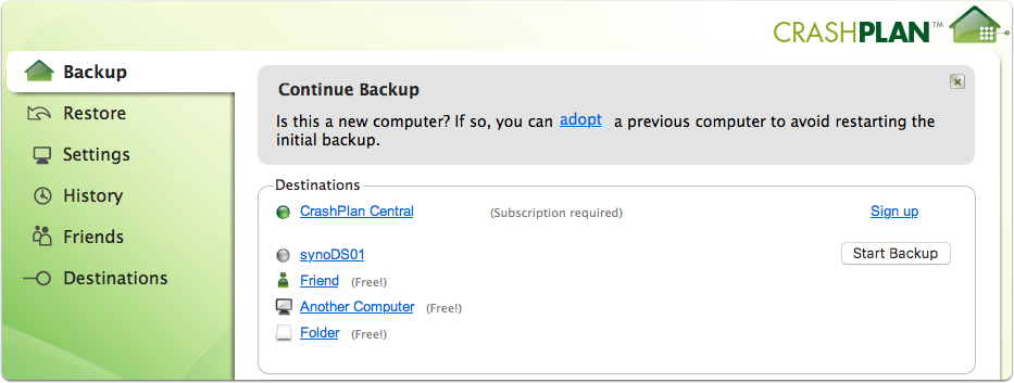 CrashPlan 4.8.0 - Backup & Recovery - Downloads - Tech Advisor