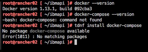 Install Docker-Compose on Photon | Lots of emryl