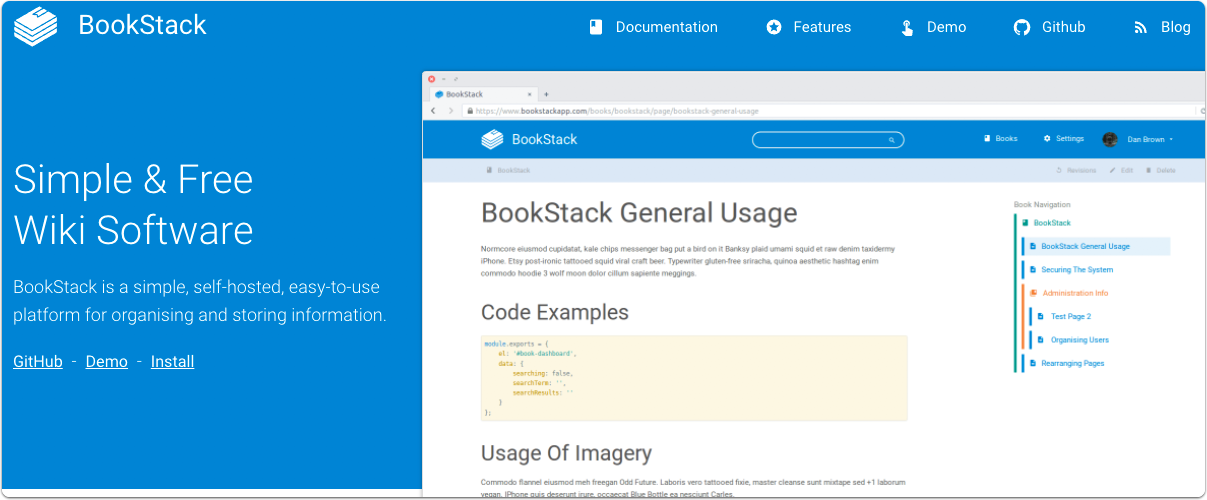 install and configure bookstack using docker and ldap lots of emryl